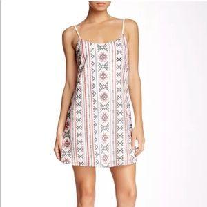 NWT Sam Edelman Embroidered Slip Dress